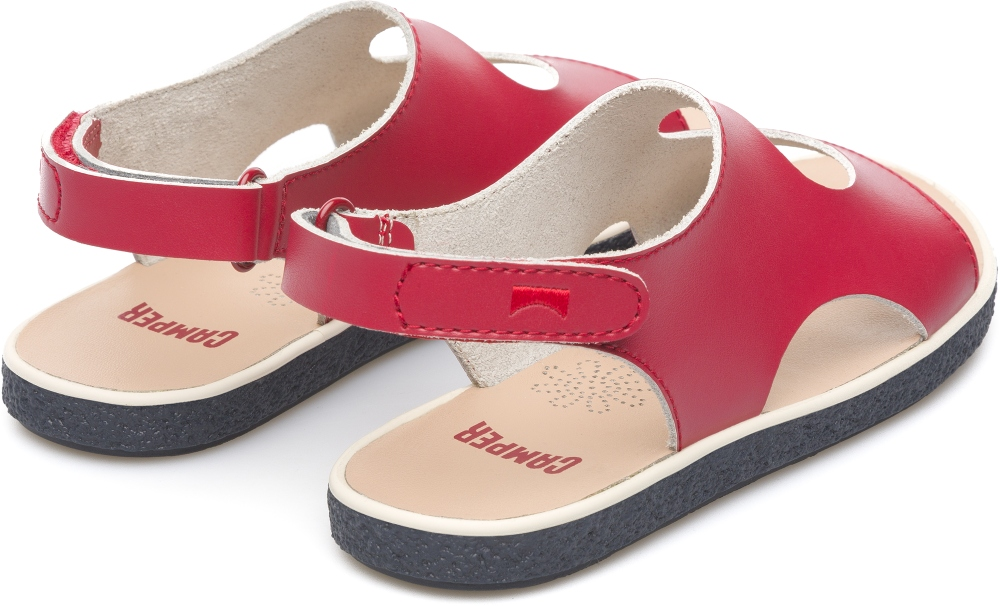 Camper Miko Red Sandals Kids K800089-003