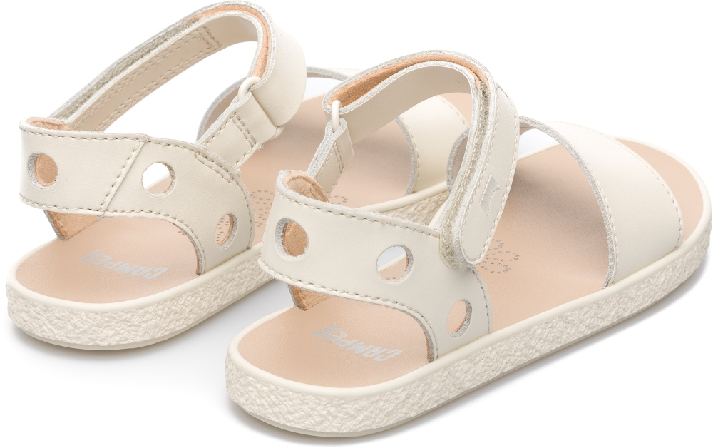 Camper Miko Beige Sandals Kids K800090-001