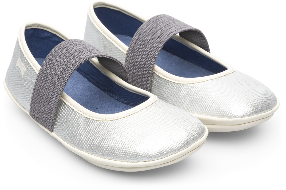 Camper Right Gris Ballerines Enfant K800096-001