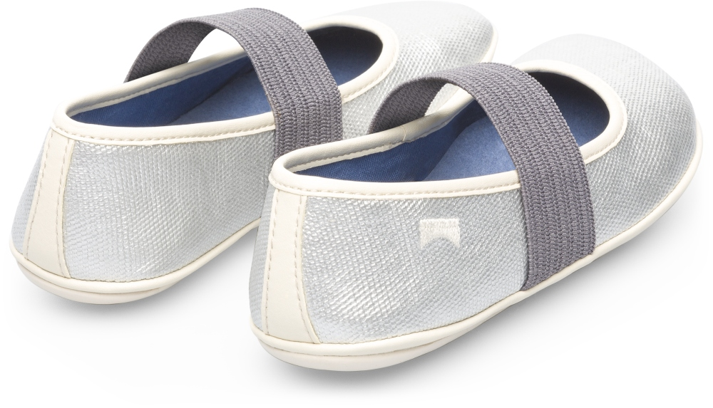 Camper Right Grey Ballerinas Kids K800096-001