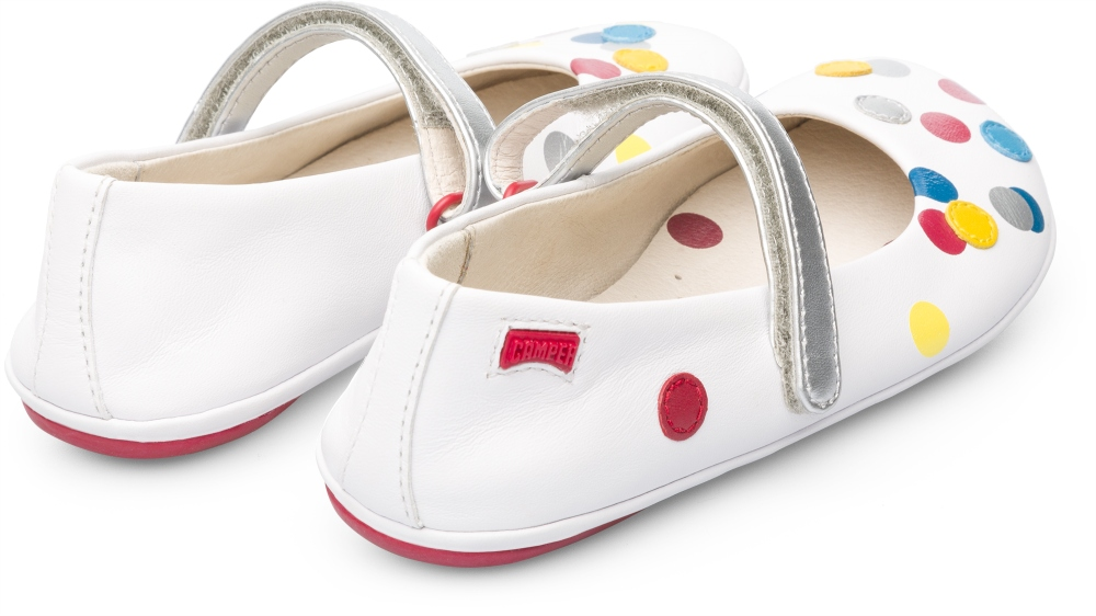 Camper Twins White Ballerinas Kids K800097-001
