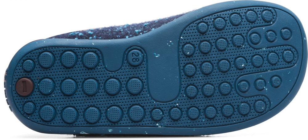 Camper Wabi Blue Slippers Kids K800150-001