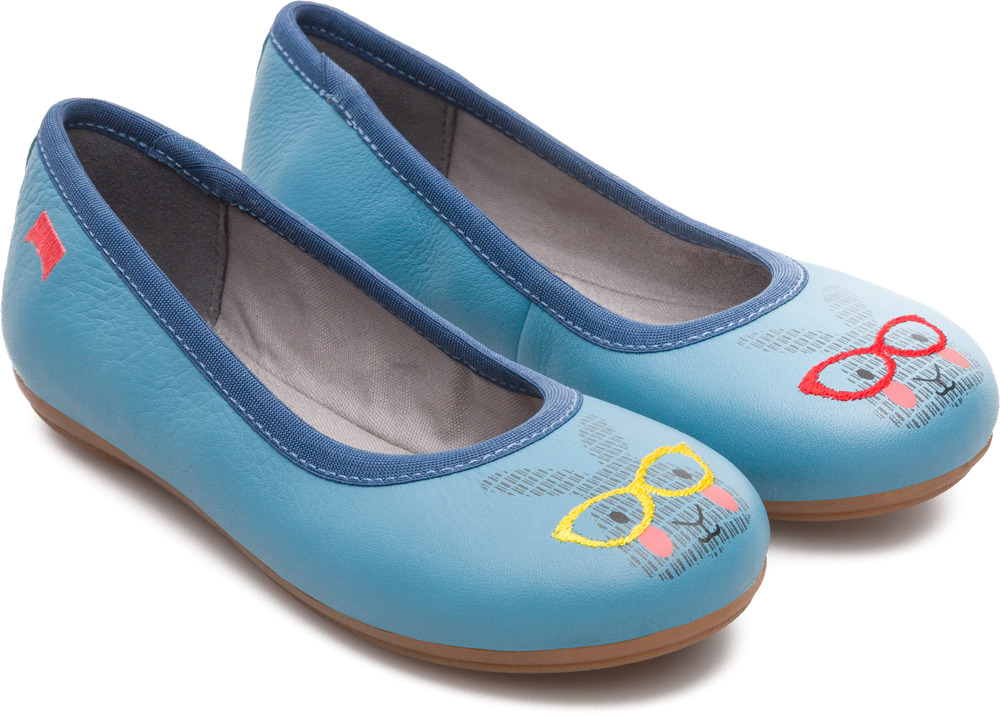 Camper Twins Blue Ballerinas Kids K800153-001