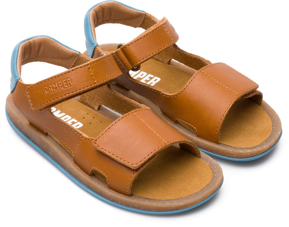 Camper Bicho Brown Velcro Kids K800156-001