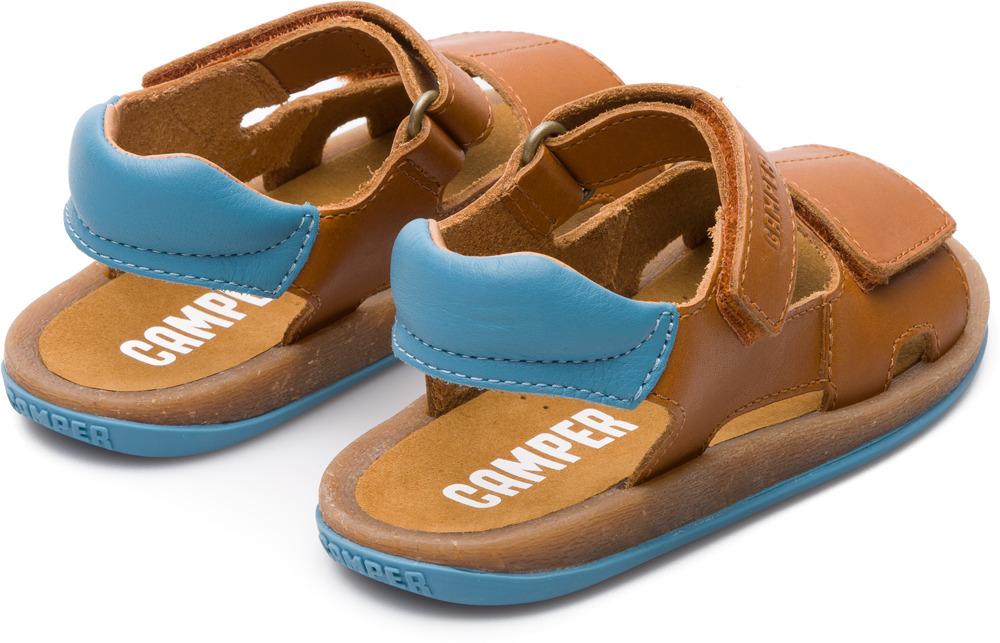 Camper Bicho Marron Velcro Enfant K800156-001