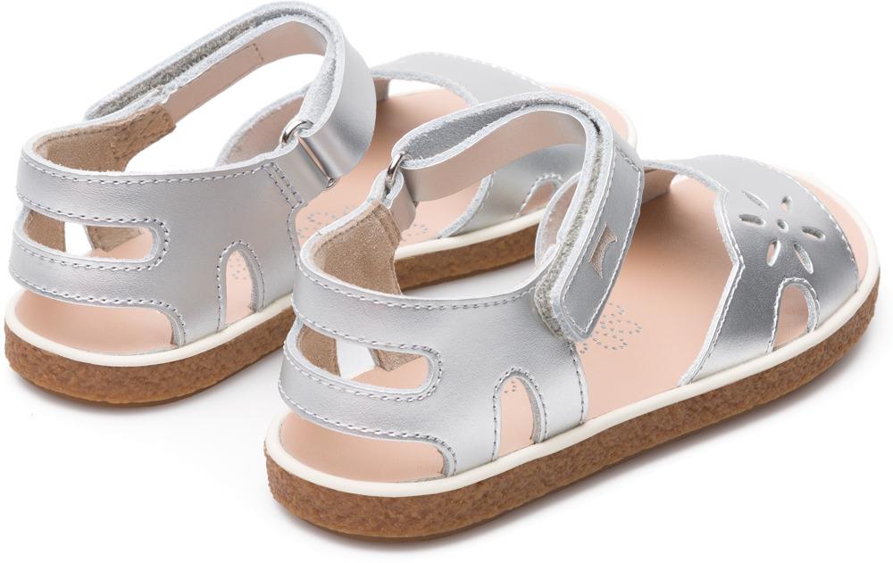 Camper Miko Grey Velcro Kids K800160-002