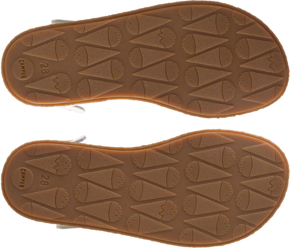Camper Twins Beige Velcro Kids K800161-003