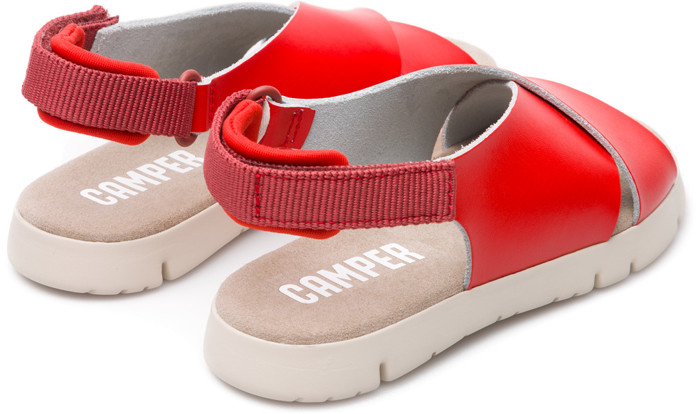 Camper Mira Red Velcro Kids K800163-001