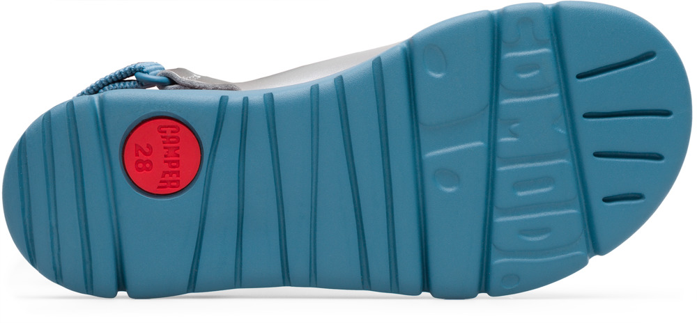 Camper Mira Grau Velcro Kinder K800163-002