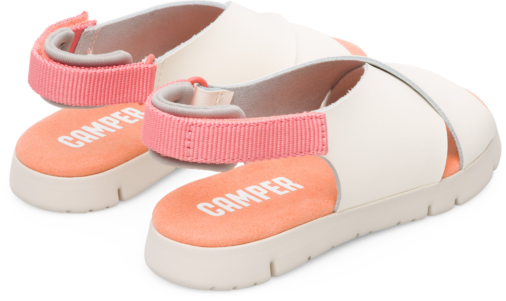 Camper Mira Beige Velcro Kids K800163-003
