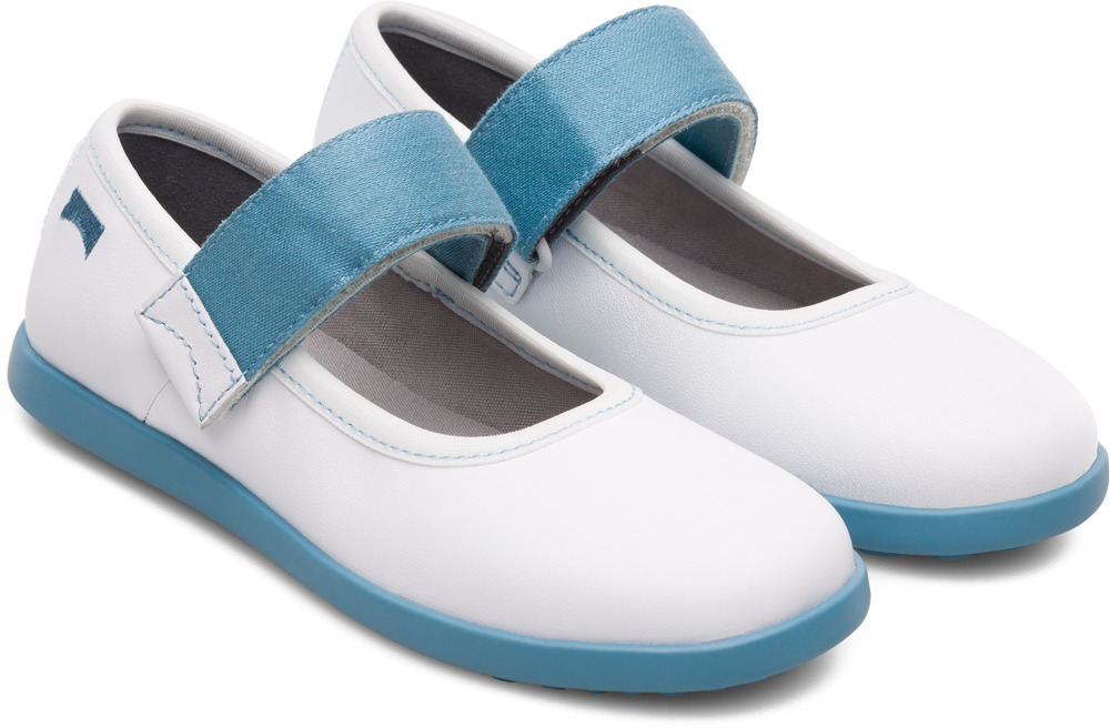 Camper Noon White Ballerinas Kids K800165-001