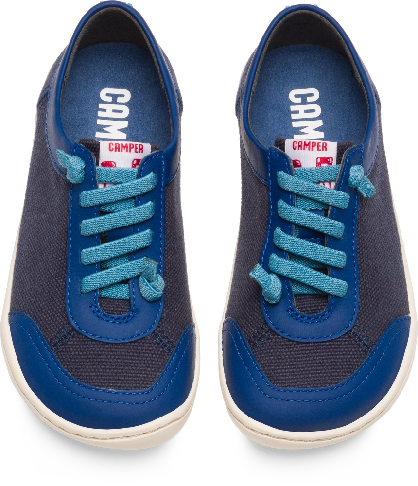 Camper Peu Blue Lace-Up Kids K800170-001