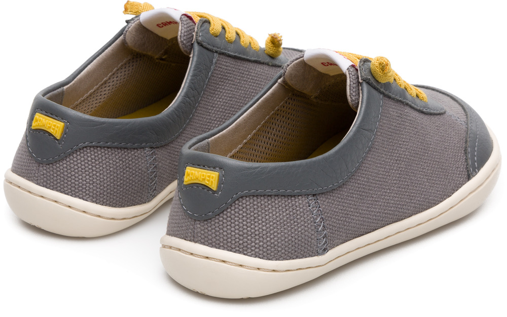 Camper Peu Grey Lace-Up Kids K800170-002
