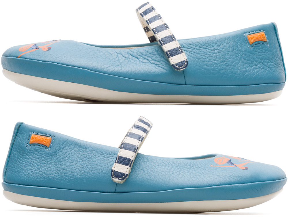 Camper Twins Niebieski Baleriny Dzieci K800176-001
