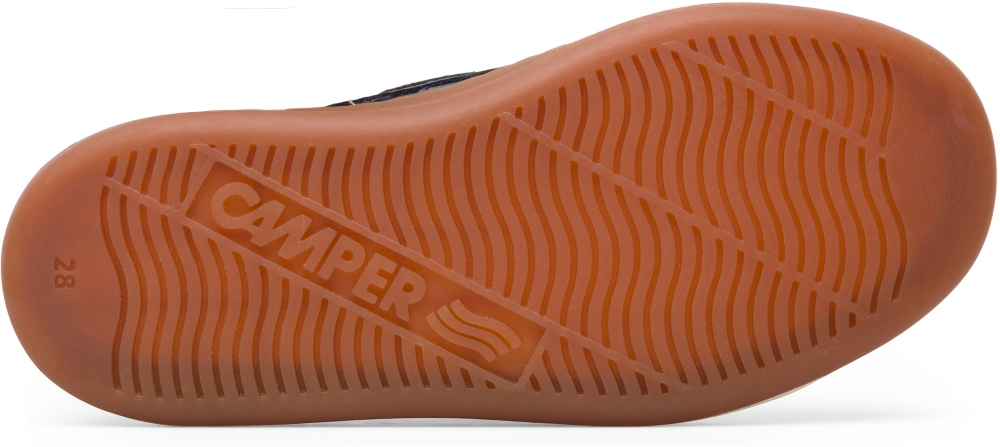 Camper Runner Blue Velcro Kids K800181-003