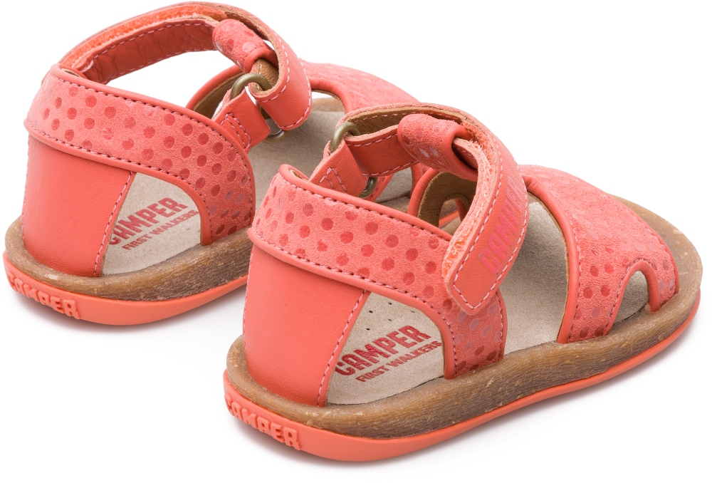 Camper Bicho Pink Velcro Kids K800187-001