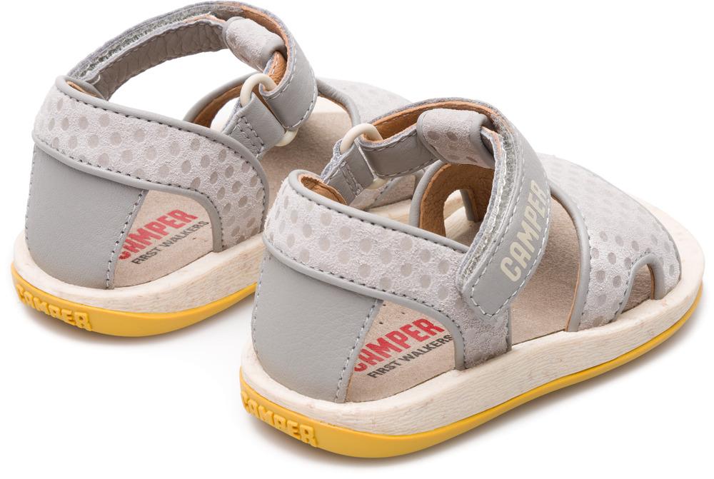 Camper Bicho Grey Velcro Kids K800187-002