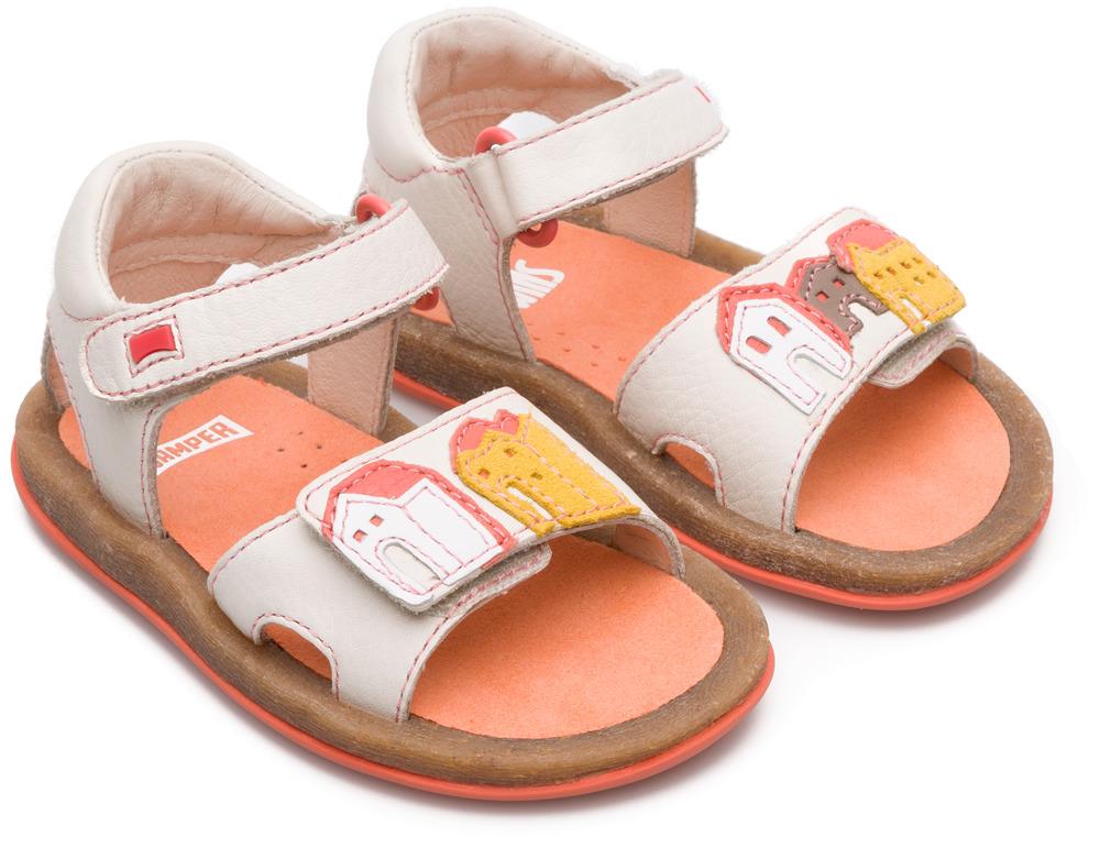 Camper Twins Beige Velcro Kids K800188-002