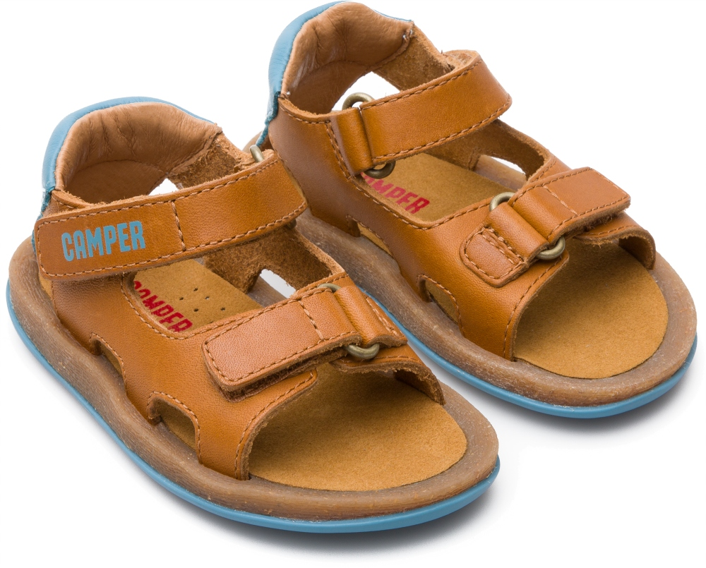 Camper Bicho Brown Velcro Kids K800189-001