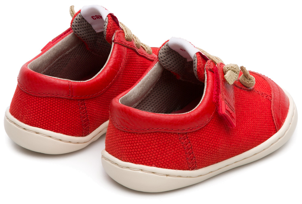 Camper Peu Red Velcro Kids K800192-003