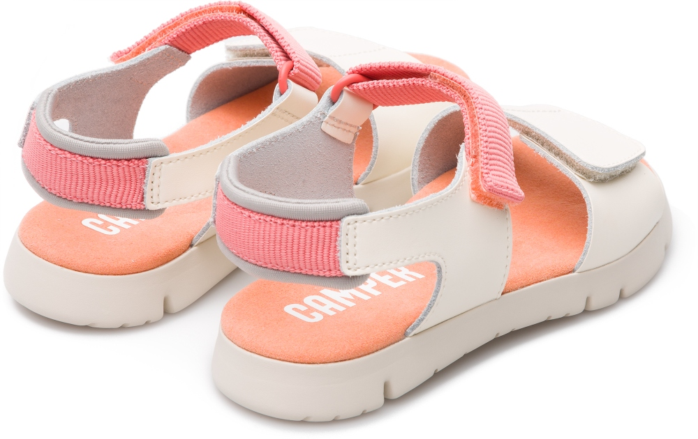 Camper Mira Beige Velcro Kinder K800198-002
