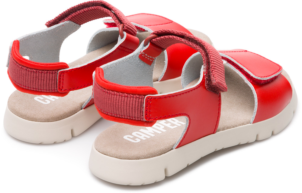Camper Mira Red Velcro Kids K800198-003