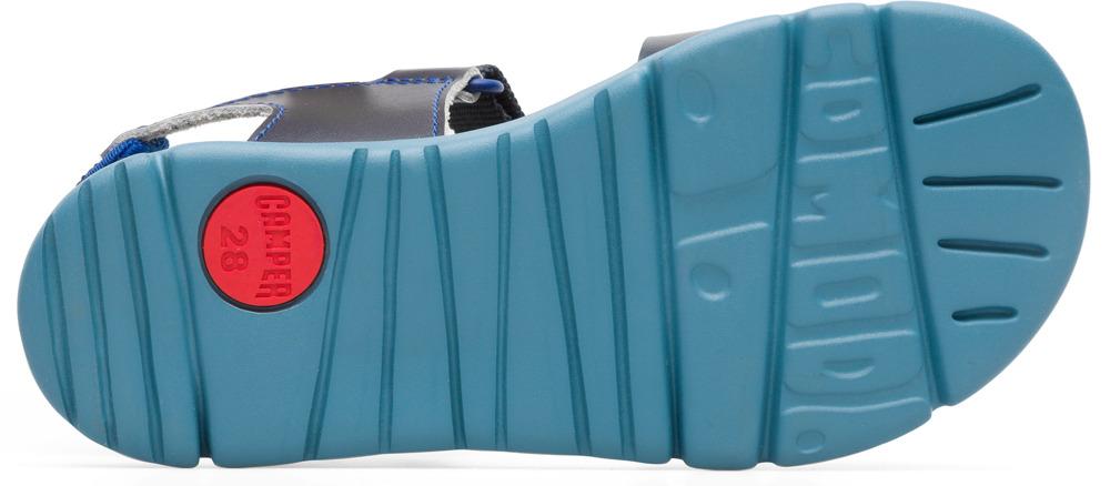 Camper Mira Bleu Velcro Enfant K800198-004