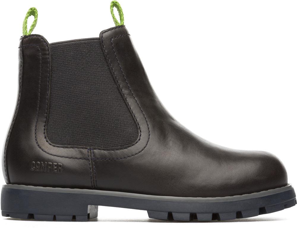 Camper Compas Black Boots Kids K900005-009
