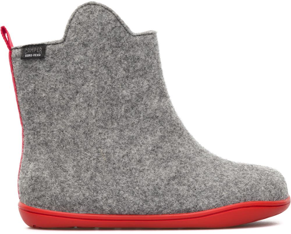 Camper Wabi Grey Ankle boots Kids K900019-001