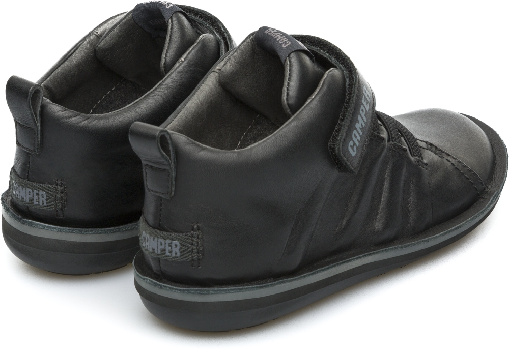 Camper Beetle  Black Boots Kids K900051-002