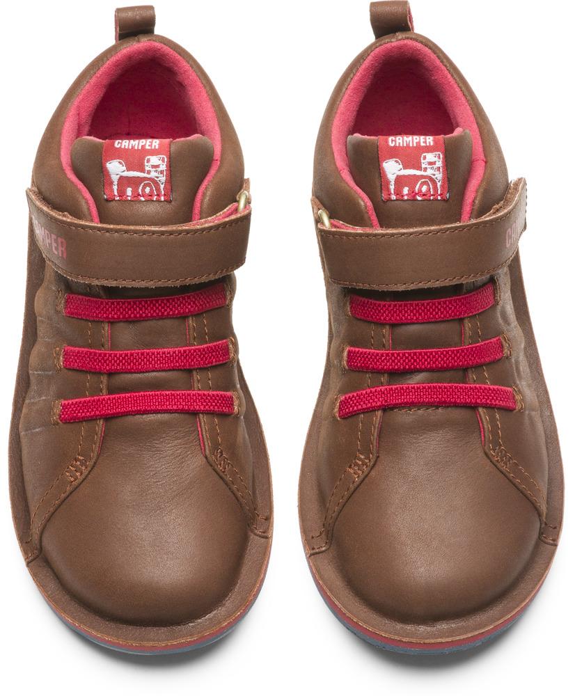 Camper Beetle  Brown Boots Kids K900051-005