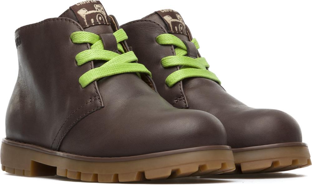 Camper Compas Brown Boots Kids K900054-004