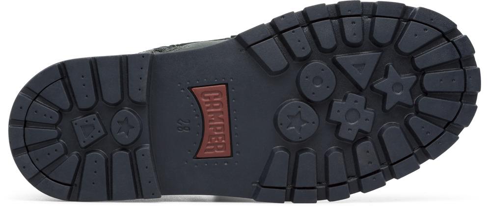 Camper Compas Green Boots Kids K900055-001