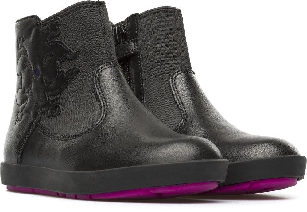 Camper Twins Black Boots Kids K900058-002