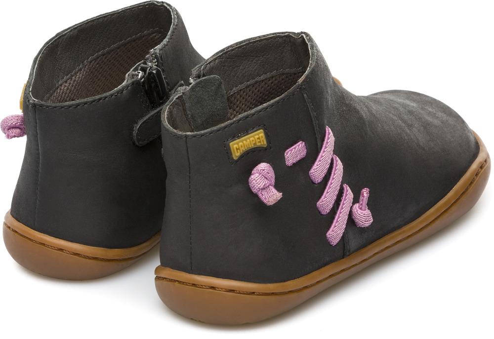 Camper Peu Black Boots Kids K900068-001