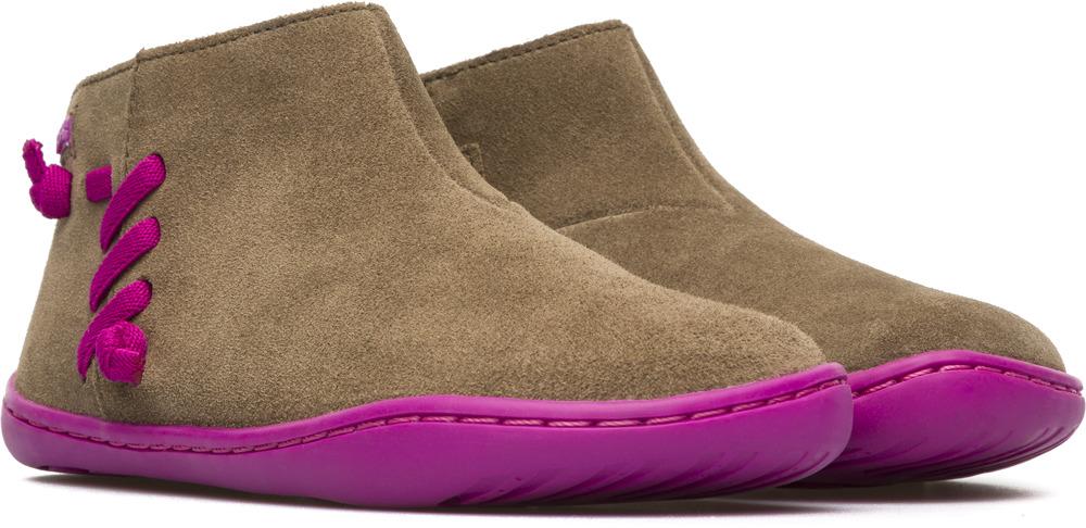Camper Peu Brown Boots Kids K900068-002