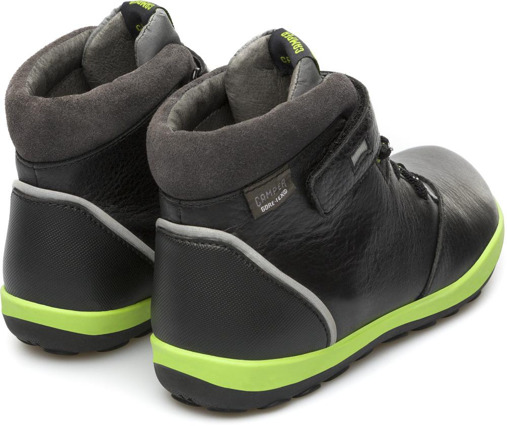 Camper Peu Pista Black Boots Kids K900072-001