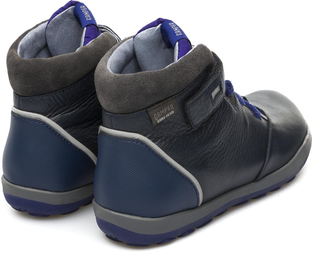 Azul camper Niño Camper De Piel ShoesZapatos Gore Tex Botas