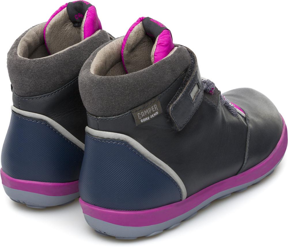 Camper Peu Pista Grey Boots Kids K900072-003