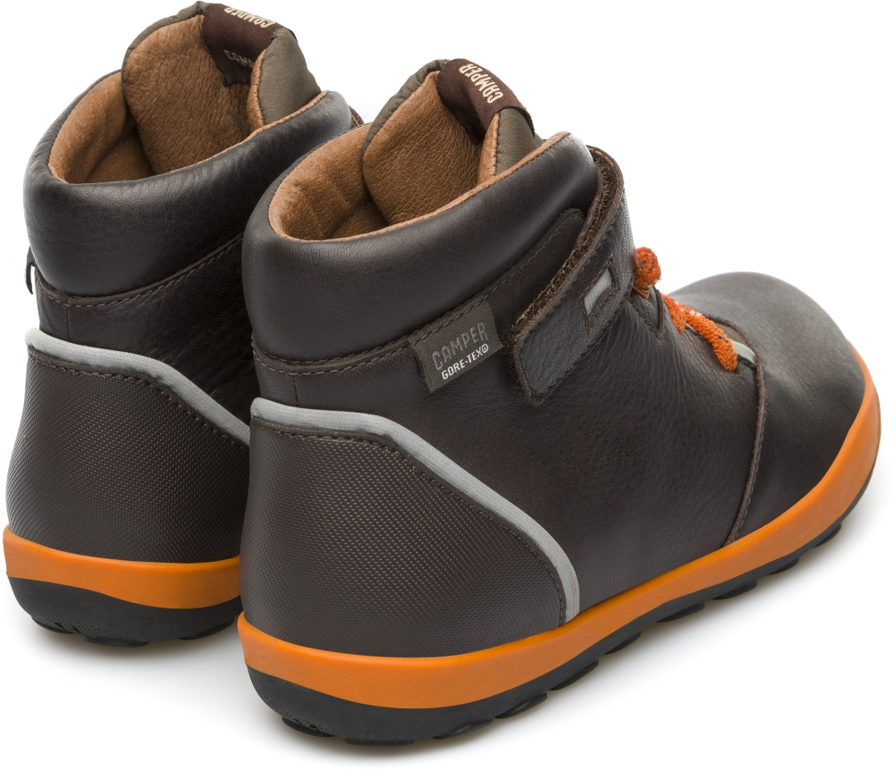 Camper Peu Pista Brown Boots Kids K900072-004