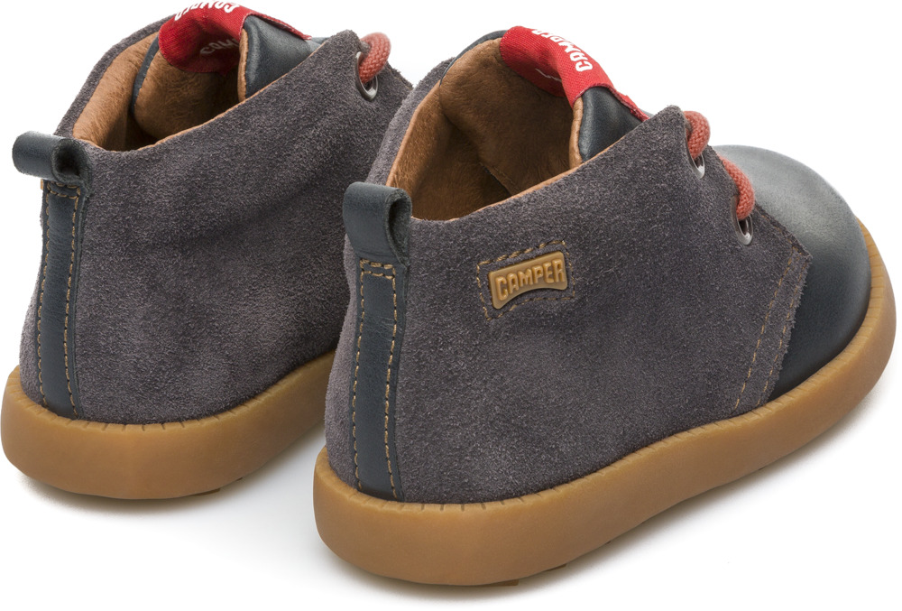 Camper Bryn Grey Boots Kids K900079-002
