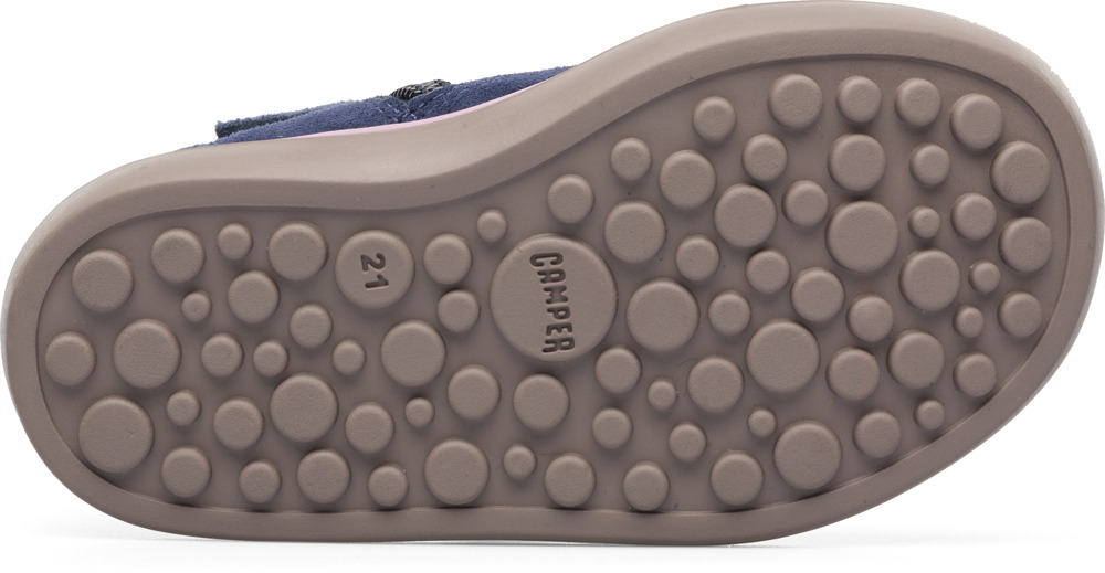 Camper Pursuit Blue Boots Kids K900080-001