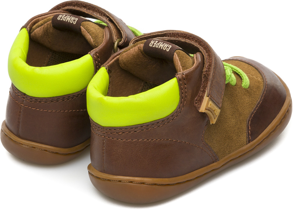 Camper Peu Brown Boots Kids K900081-001