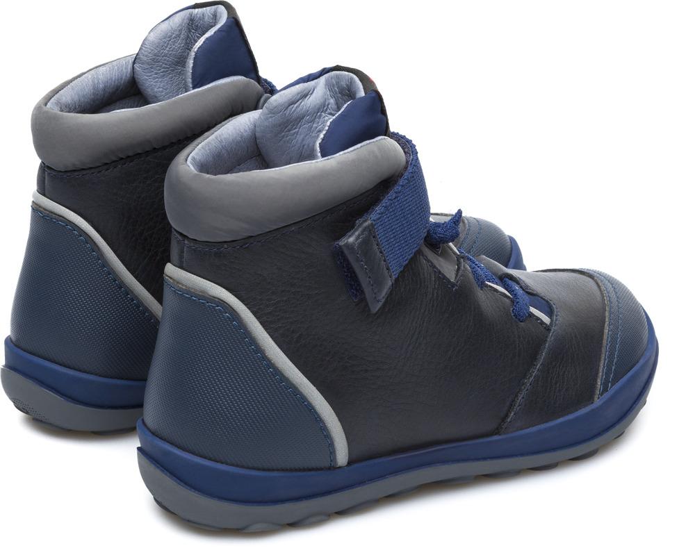 Camper Peu Pista Blau Botines Nens K900106-003