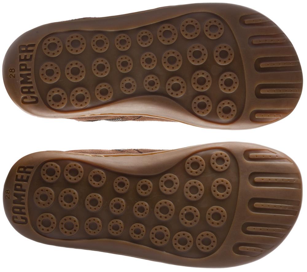 Camper Twins Marró Botines Nens K900121-001