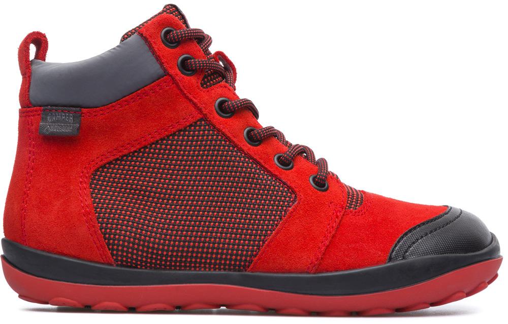 Camper Peu Pista Vermell Botins Nens K900124-001