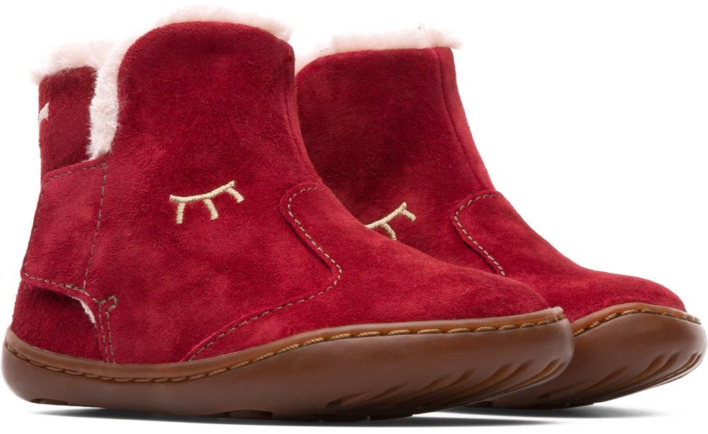 Camper Peu Vermell Botes Nens K900132-002