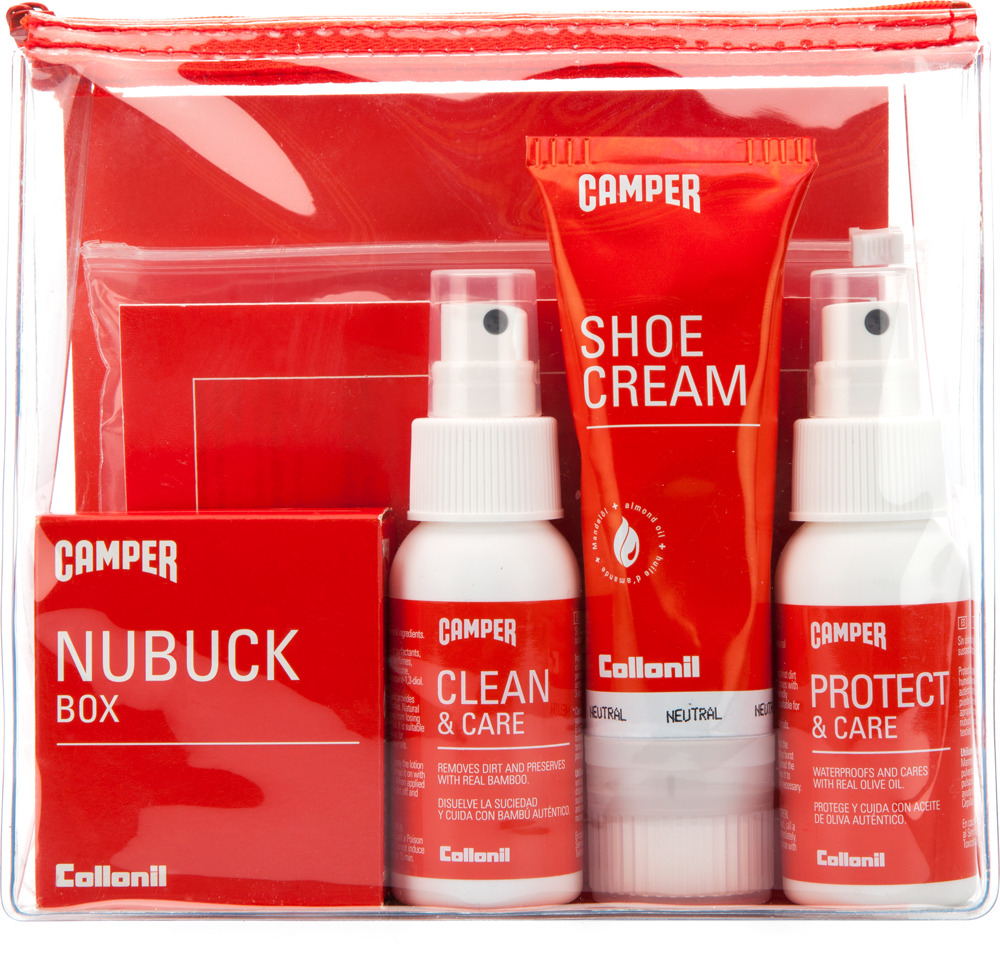 Camper Shoe Care Travel Kit L8117-001 Gift accessories x dUtR3GDif