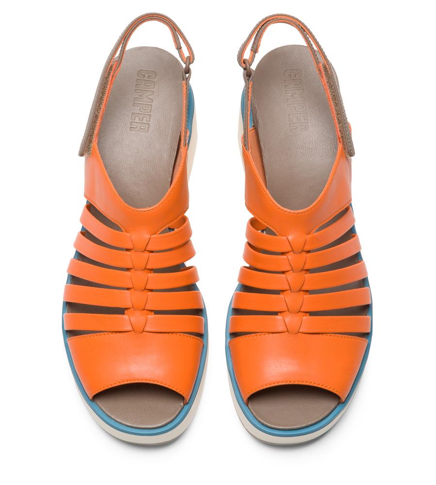 aa31b21c4b5 Camper Tropik Orange Chaussures casual Femme K200594-002
